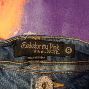 Celebrity Pink Shorts - Cute short denim Jeans